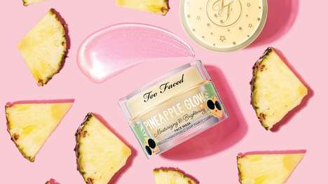 Pineapple-Powered Gel Masks