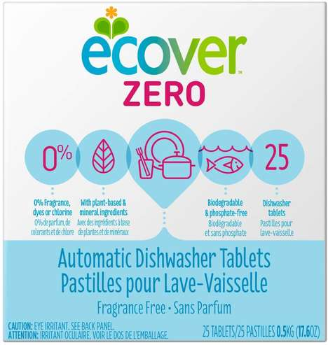 Sustainable Dishwasher Soap Tablets
