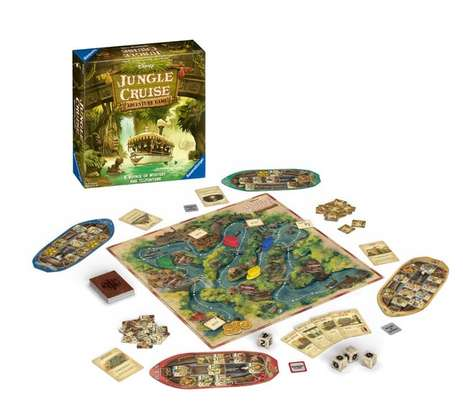 Adventurous Ride-Themed Board Games