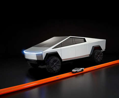 Futuristic Truck-Inspired Toy Cars