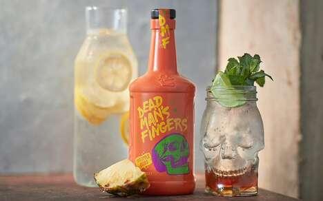 Spiced Pineapple Spirits