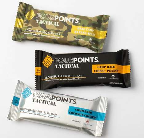 Slow-Burn Protein Bars