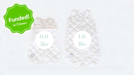 Wearable Infant Weighted Blankets