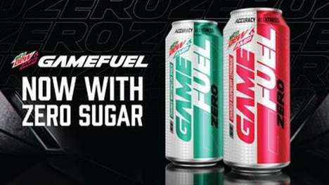 Calorie-Free Gamer Drinks