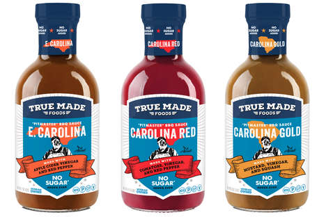 Naturally Sweetened Barbecue Sauces