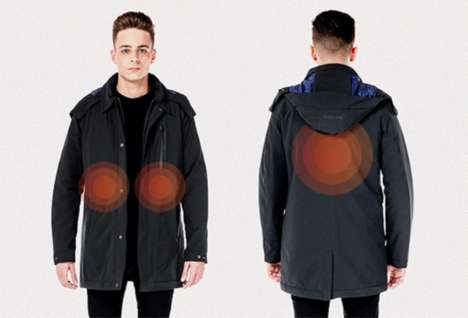 Self-Heating Performance Jacket
