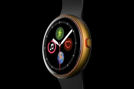 Circular Form Smartwatches