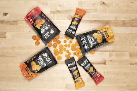 QSR Baked Cheese Snacks
