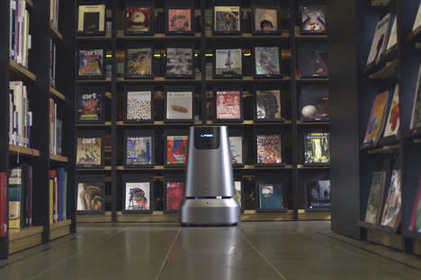Bookstore Assistance Robots