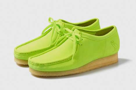 Neon Collaboration Desert Boots