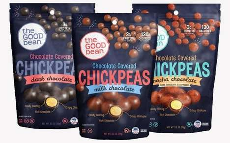 Chocolatey Chickpea Snacks
