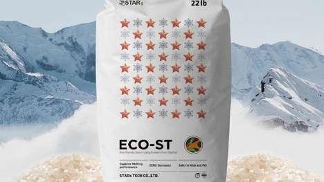 Starfish-Based Ice Melters