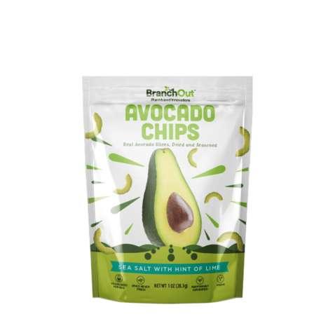 Savory Avocado Chips