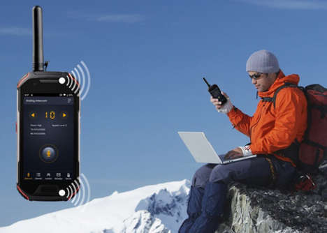 Rugged Walkie-Talkie Smartphone