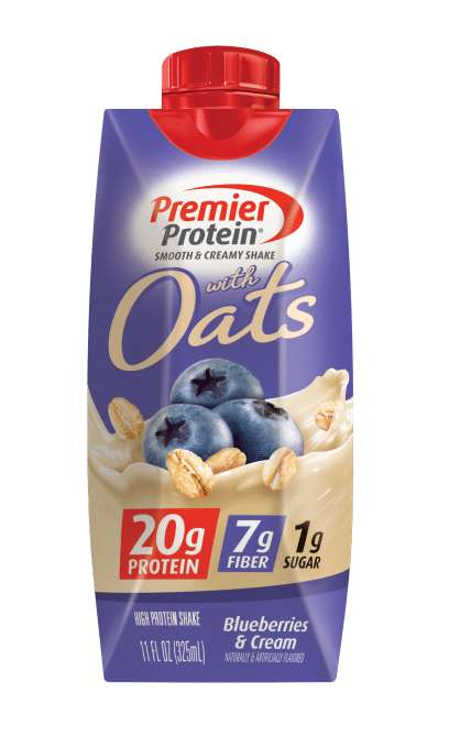 Oat-Infused Protein Shakes