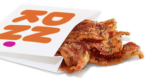 Coffee Brand Bacon Snacks
