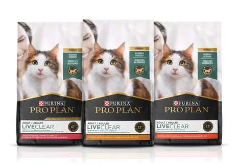 Allergen-Reducing Cat Foods