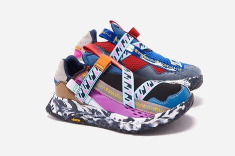 Sustainable Surplus Material Sneakers