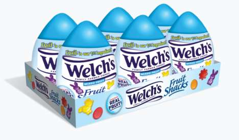 Easter-Themed Fruit Snacks