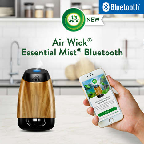 Bluetooth-Connected Fragrance Diffusers