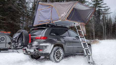 Winter-Ready Car Rooftop Tents