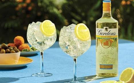 Citrusy Mediterranean-Inspired Gins