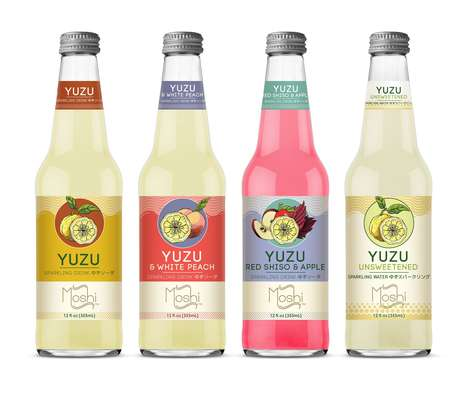 Sparkling Yuzu Drinks