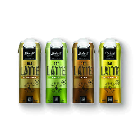 Prepackaged Oat Milk Lattes