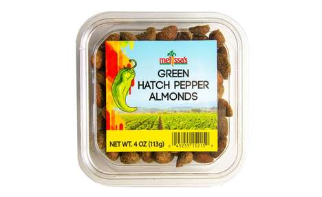 Zesty Flavored Almond Snacks