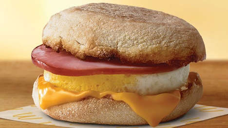Complimentary Breakfast Sandwich Promotions