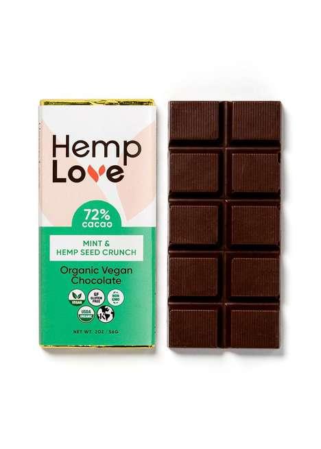 Hemp-Infused Chocolate Bars
