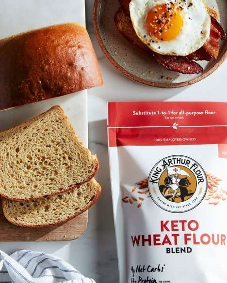 Keto-Friendly Flour Blends