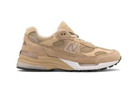Casual Earthy Tonal Sneakers