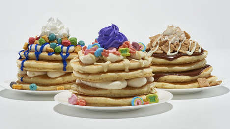 Branded Cereal Pancakes