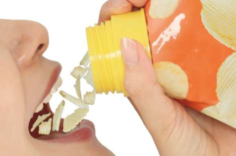 Drinkable Potato Chip Packaging