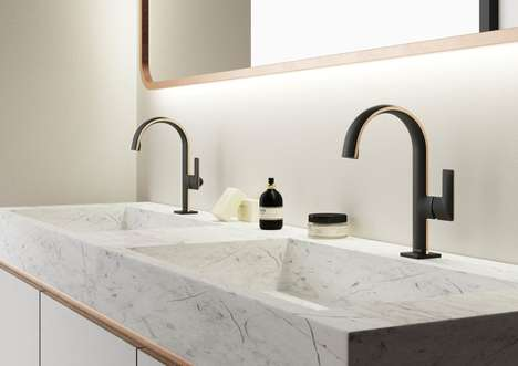 Ultra-Thin Paper-Like Faucets