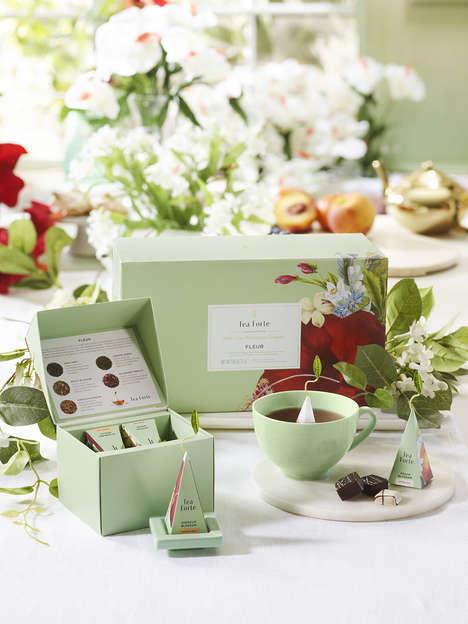 Spring-Inspired Tea Sets
