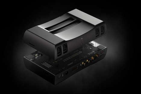 Retro Design-Conscious Consoles