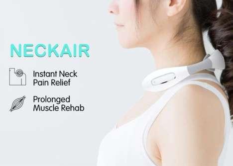 Compact Neckband Massagers