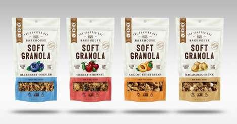 Soft-Baked Granola Snacks