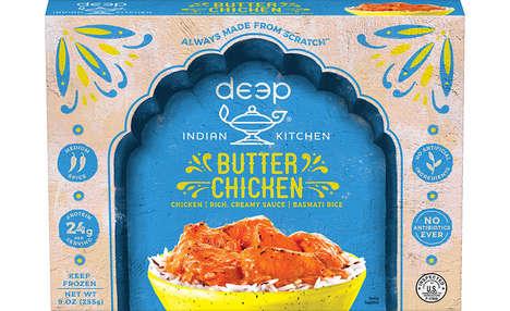 Authentic Frozen Indian Cuisine