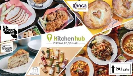 Virtual Food Halls