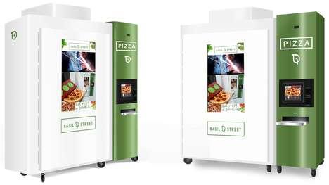 Gourmet Pizza Vending Machines