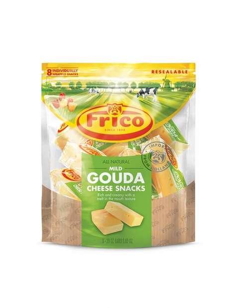 Convenient Gouda Cheese Snacks