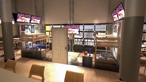 Sports Bar-Branded Bed n'Breakfast