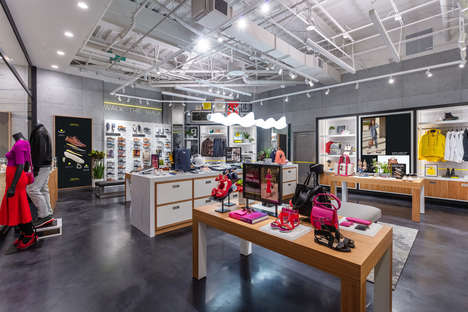 NFC-Enabled Lifestyle Shops