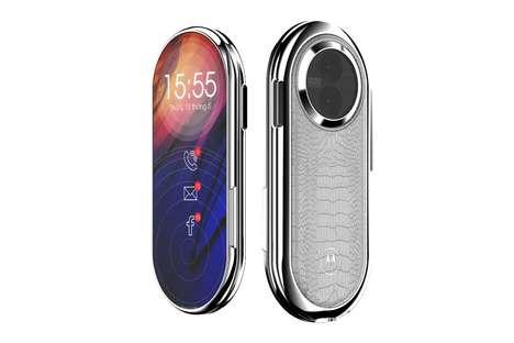Swiveling Retro Smartphones