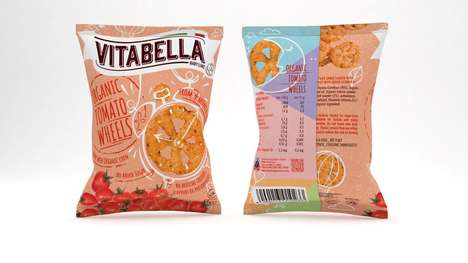 Vitamin-Enriched Snack Wheels