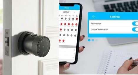 Discreet Smart Doorknobs