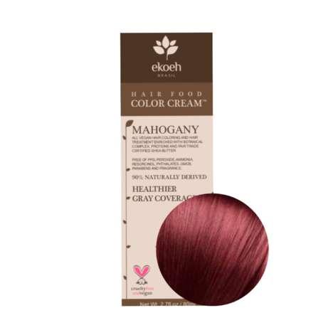 Naturally Derived Hair Color Creams